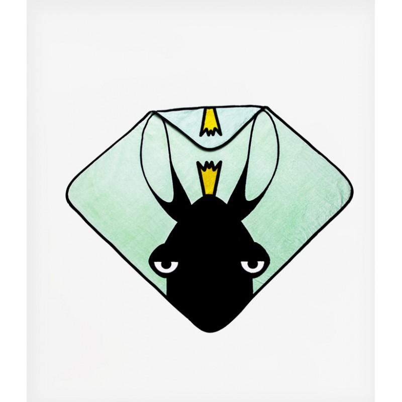 Βρεφικο μπουρνουζι-καπα Babylivia TINY TOES