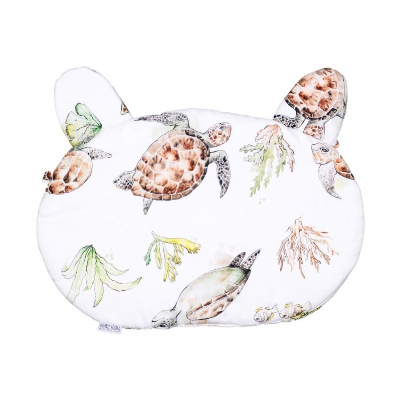 Βρεφικο μαξιλαρακι 30*40 χελωνακια QBANA MAMA