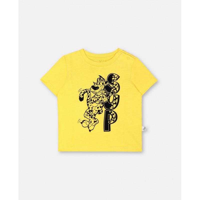 Βρεφικο μπλουζακι λεοπαρδαλη STELLA MC CARTNEY