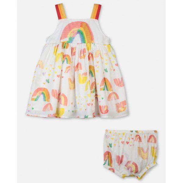 Βρεφικο φορεμα ουρανιο τοξο STELLA MC CARTNEY
