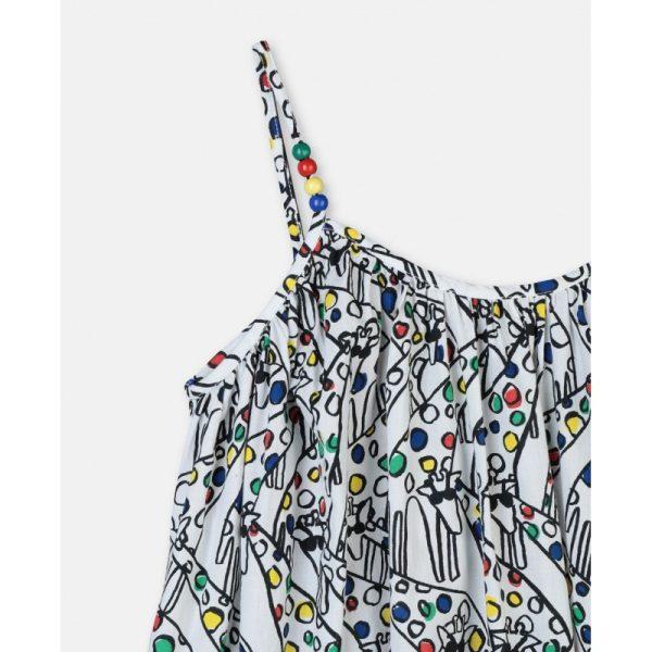 Παιδικο φορεμα καμηλοπαρδαλη STELLA MC CARTNEY