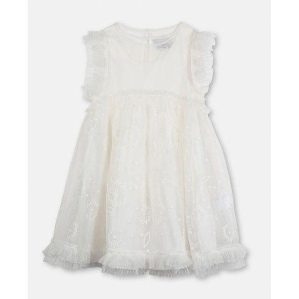 Παιδικο φορεμα οργαντζα λουλουδια STELLA MC CARTNEY
