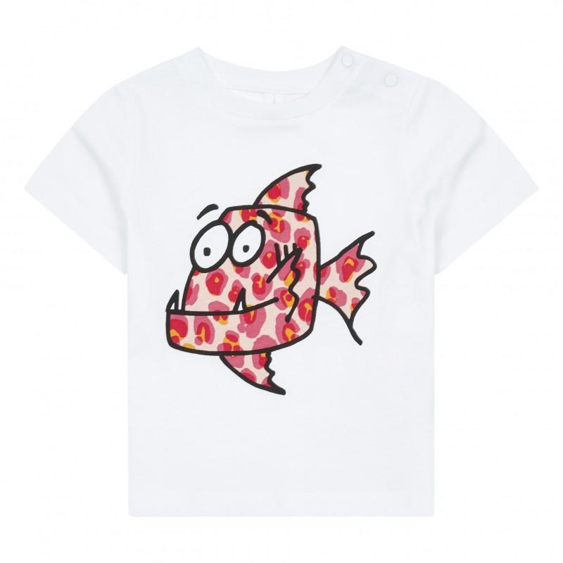 Βρεφικο μπλουζακι ψαρι STELLA MC CARTNEY