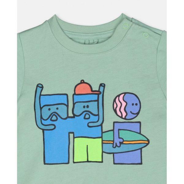 Βρεφικο μπλουζακι αλφαβητο STELLA MC CARTNEY