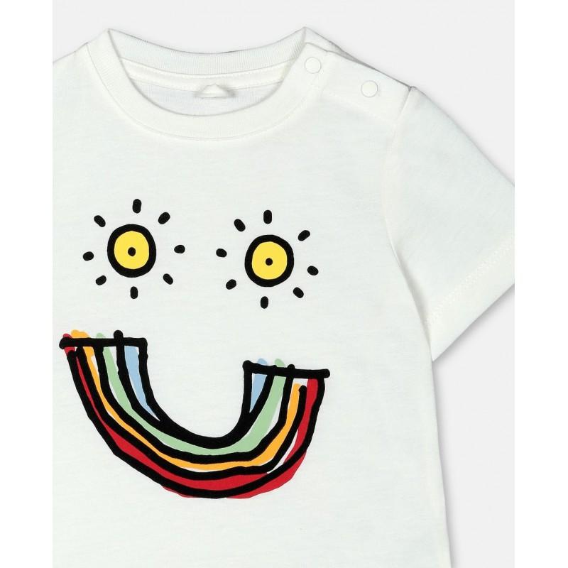 Βρεφικο μπλουζακι χαμογελαστη φατσουλα STELLA MC CARTNEY
