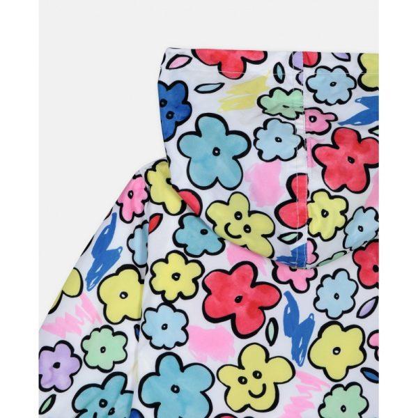 Βρεφικο μπουφαν λουλουδια STELLA MC CARTNEY
