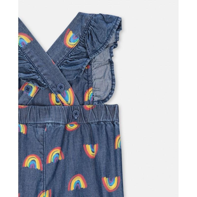 Βρεφικη ολοσωμη φορμα ουρανιο τοξο STELLA MC CARTNEY