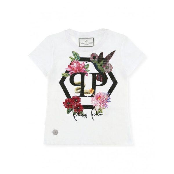 Παιδικη μπλουζα με λουλουδια PHILIPP PLEIN