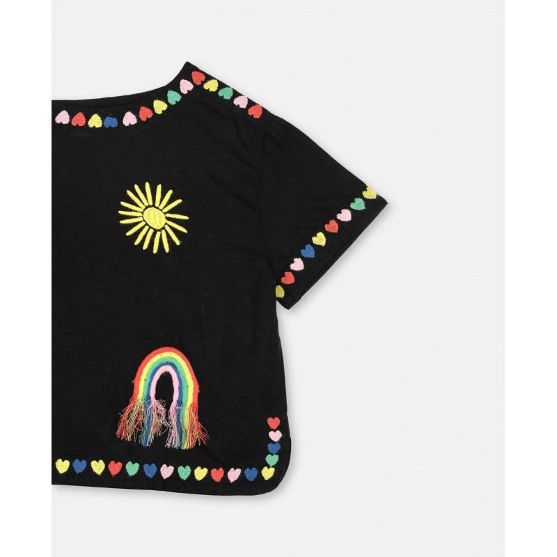Παιδικη λινη μπλουζα σχεδια STELLA MC CARTNEY