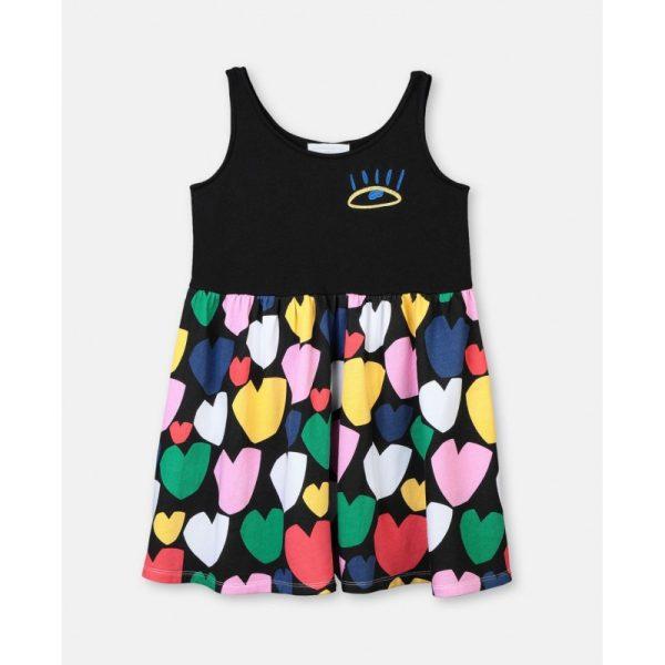 Παιδικο φορεμα καρδουλες STELLA MC CARTNEY