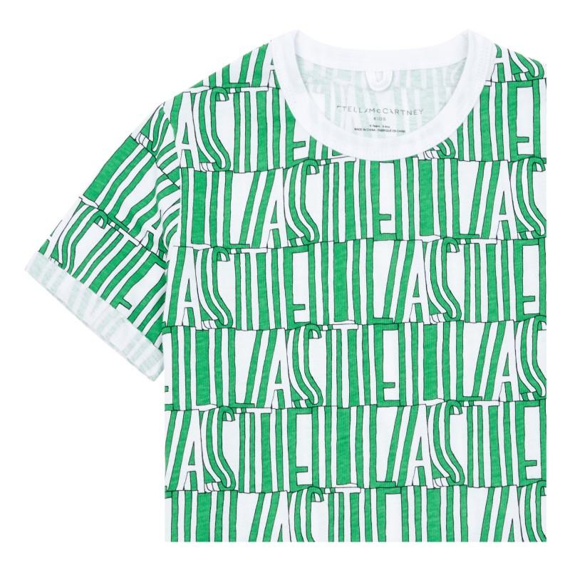 Παιδικο μπλουζακι logo STELLA MC CARTNEY