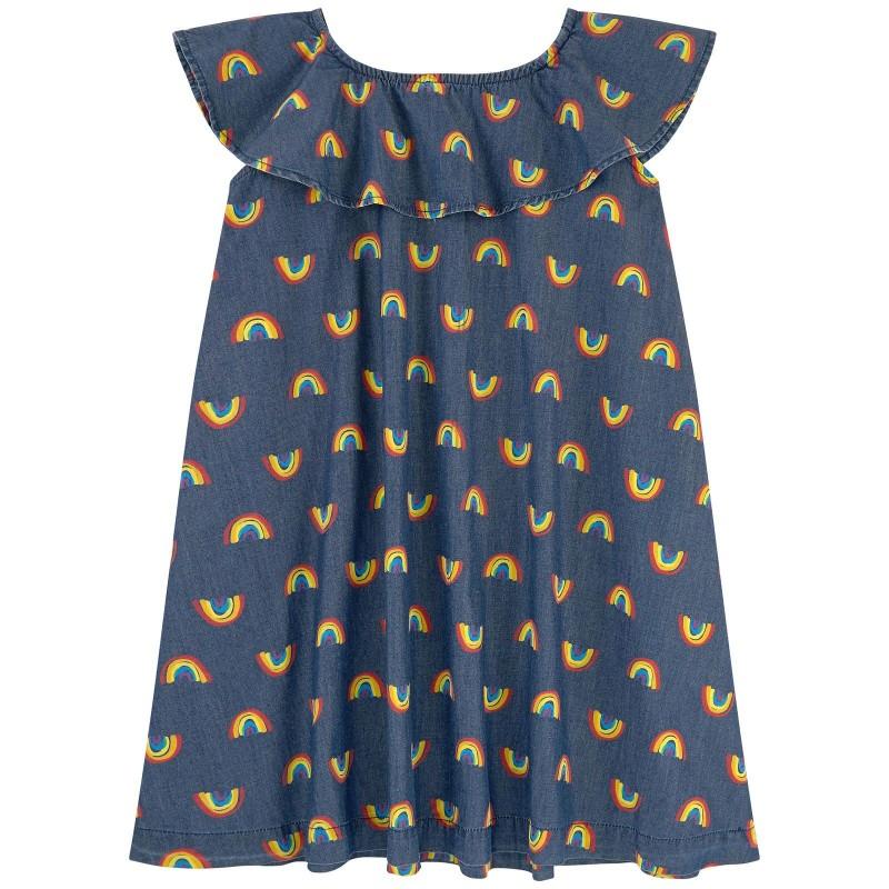 Παιδικο τζην φορεμα ουρανια τοξα STELLA MC CARTNEY