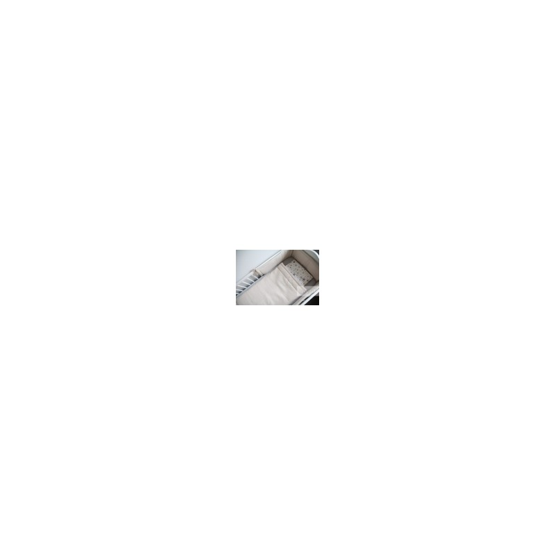 Βρεφικη παντα κουνιας βαμβακερη μπεζ TINY STAR