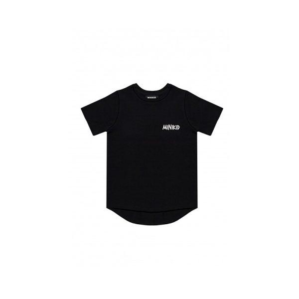 Κοντομανικη Μακο μπλουζα μαυρη