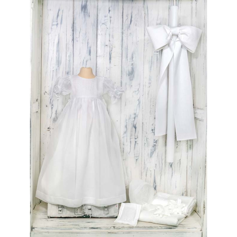 Βαπτιστικό φόρεμα αγκαλιάς - NATURA