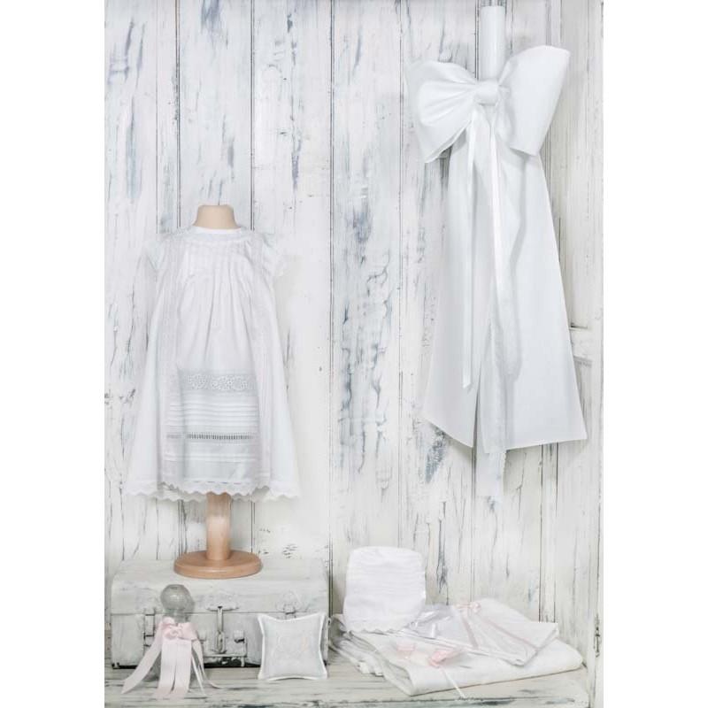 Βαπτιστικό φόρεμα ΡΟΥΒΑΣ - NATURA