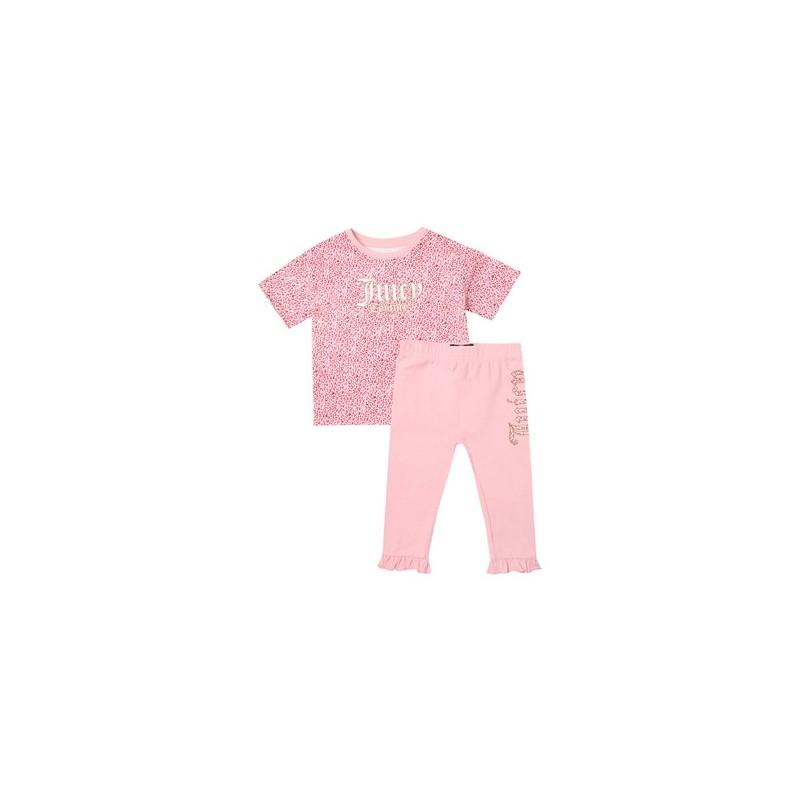 Βρεφικό σέτ μπλούζα με κολάν - JUICE COUTURE