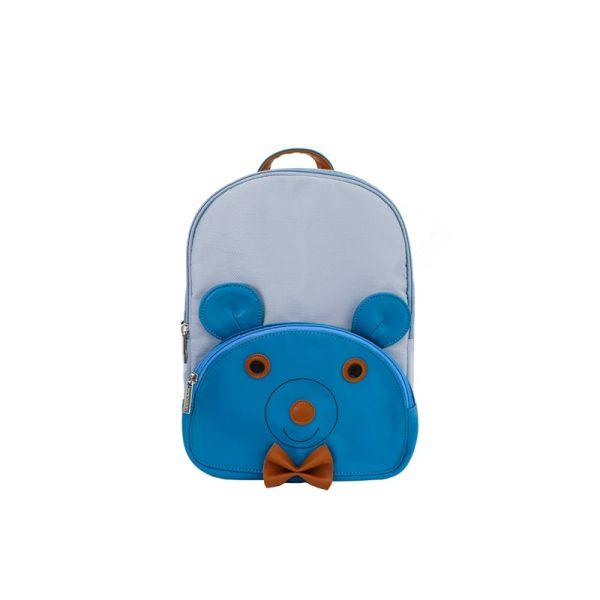 Παιδικό Σακίδιο Πλάτης Μπλε με Αρκούδο