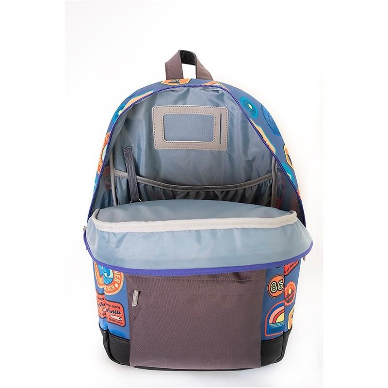 Παιδικό Σακίδιο Πλάτης με Ταξιδιωτικά Αυτοκόλλητα