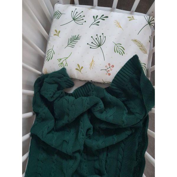Βρεφική Βαμβακερή Κουβέρτα σε Πράσινο