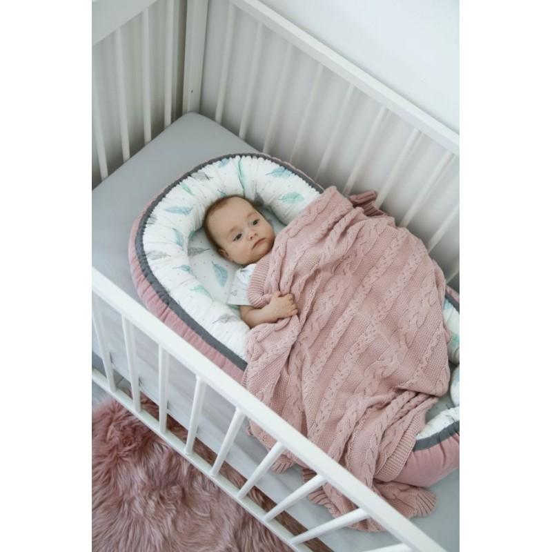 Βρεφική Βαμβακερή Κουβέρτα σε Ρόζ