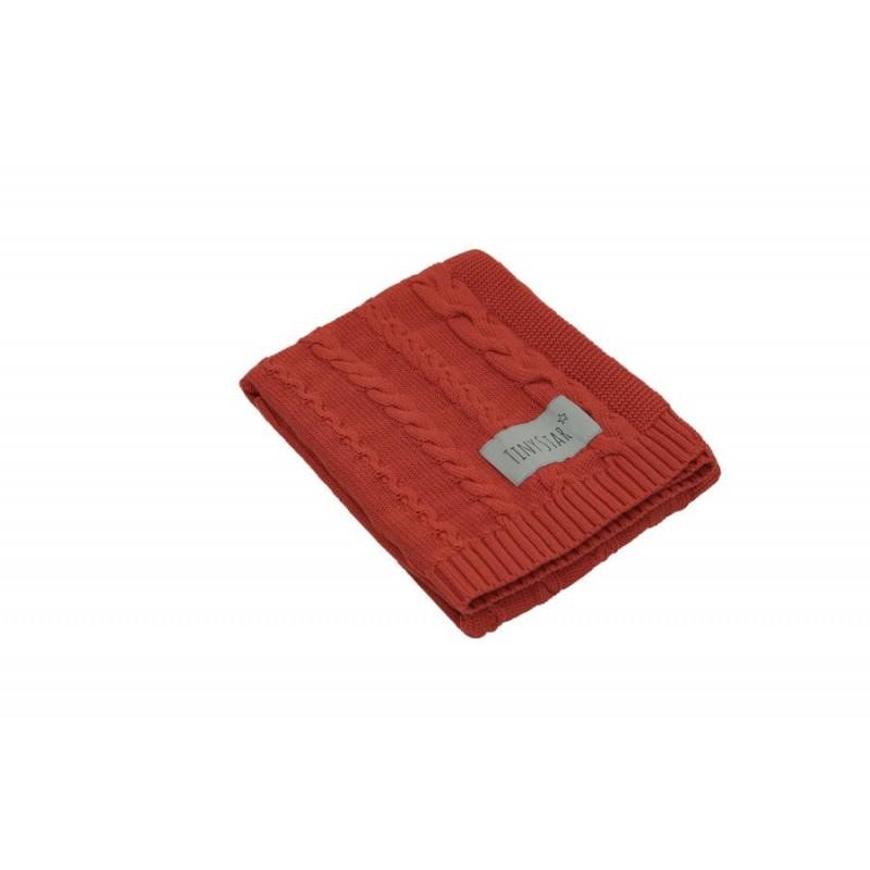 Βρεφική Βαμβακερή Κουβέρτα σε Κεραμιδί