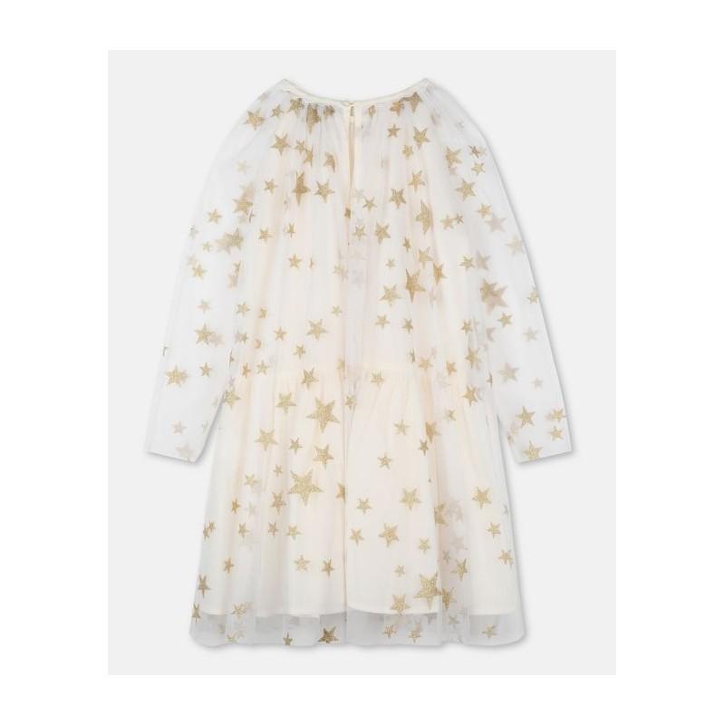 Παιδικό Τούλινο Φόρεμα με Αστέρια