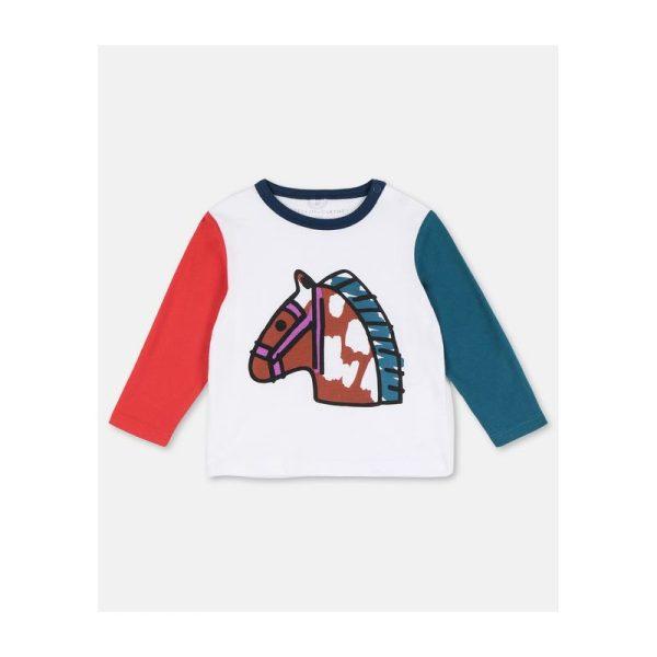 Βρεφική Μπλούζα με Αλογο