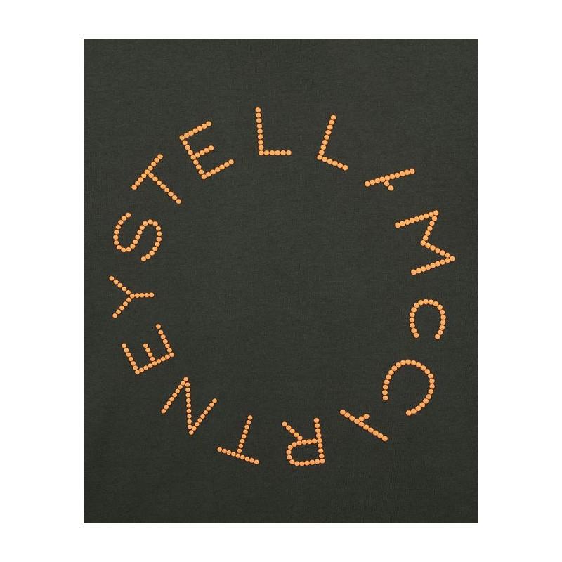Παιδική Μπλούζα με Πορτοκαλί Κύκλο Logo